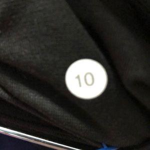 lululemon athletica Pants - Lululemon black camo legging, sz 10, 61995